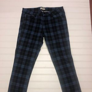 Forever 21 plaid jeans